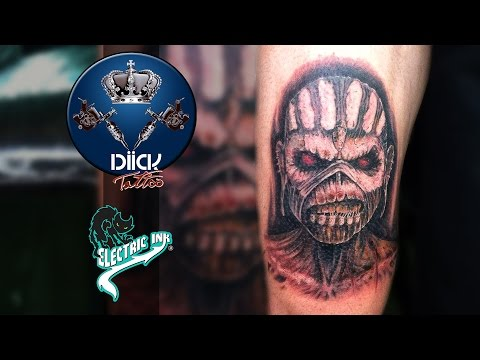 Diick Tattoo - Tattoo Eddie Iron Maiden - #Tattoodoiron