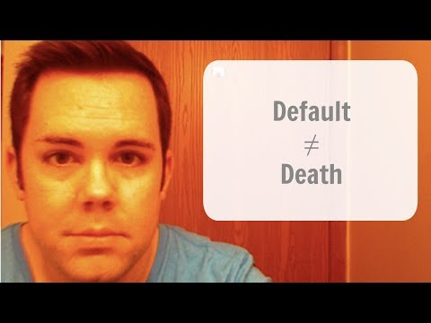 The Benefits of Defaulting on a Student Loan
