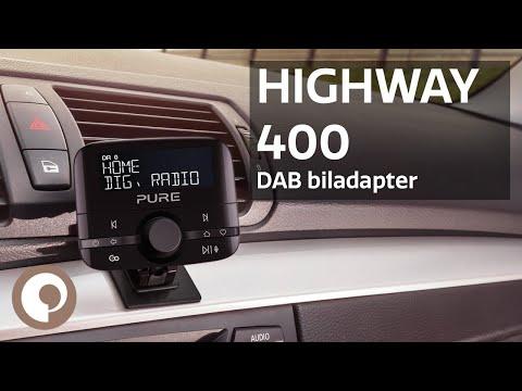 Pure Highway 400 - DAB- og Bluetooth-Adapter Til Bil (Norsk)
