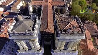 Cathédrale d'Auch dans le Gers vue du drone, une vidéo LFVDD