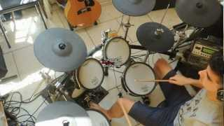 David Guetta - I can only Imagine ft.Chris Brown ft. Lil Wayne (drum cover) - Loric Cherki