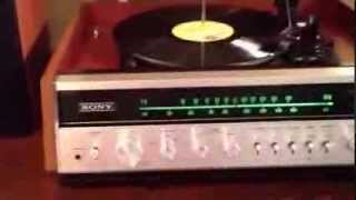 Sony Record player 1970s meant