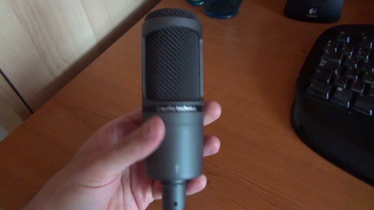 audio technica at2020 usb condenser microphone review youtube. Black Bedroom Furniture Sets. Home Design Ideas