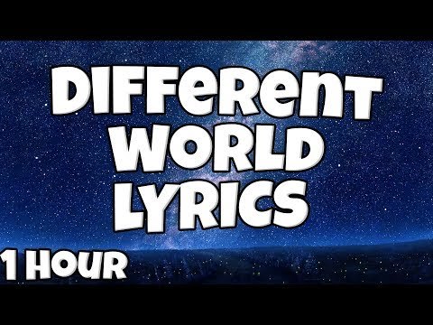Different World  - Alan Walker Ft. Sofia Carson, K-391 & CORSAK 【1 HOUR Loop】♪♪ (Lyrics)