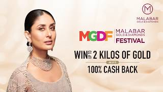 Win up to 2 Kilos of Gold & up to 100% Cash back at Malabar Gold & Diamonds Festival - Qatar