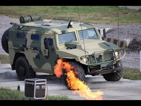 Российский бронеавтомобиль - ТИГР