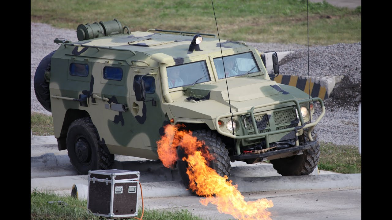 Российский бронеавтомобиль - ТИГР - YouTube