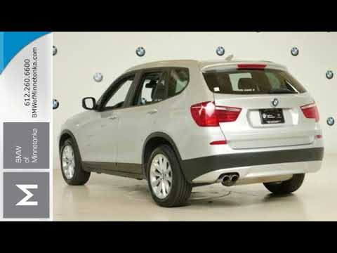 Used 2014 BMW X3 Minnetonka MN Minneapolis MN BB51696  YouTube