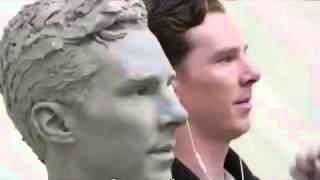 Процесс создания восковой фигуры Бенедикта Камбербэтча русские субтитры(Как создаются восковые фигуры, которые представлены в музее мадам Тиссо в Лондоне., 2016-04-29T14:09:10.000Z)
