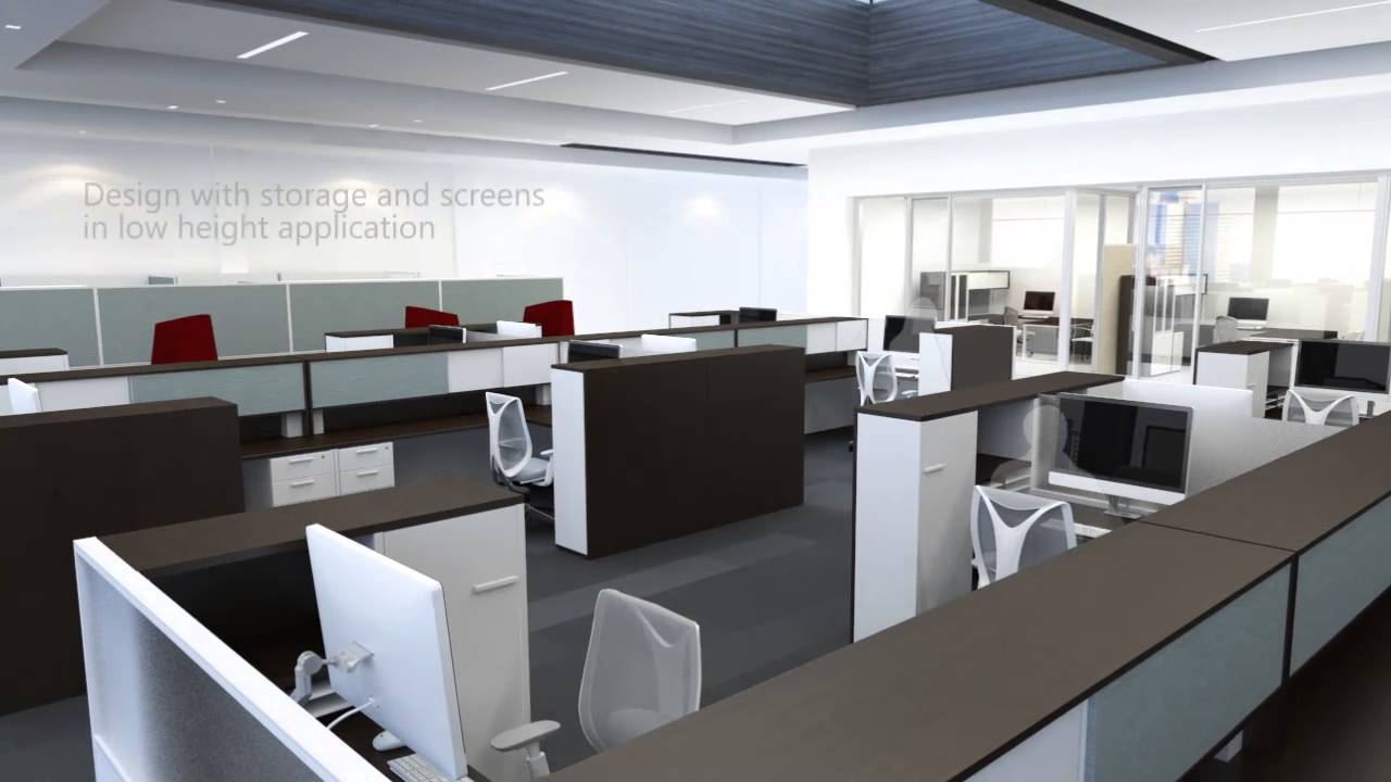 Teknion Expansion Desking Overview 2015 iSpace Furniture YouTube