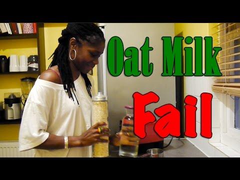 Oat Milk Fail...!!   The Living Fruits