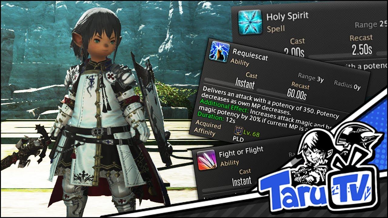 FFXIV 4 0: Paladin Off Tank Opener - Fight or Flight into Holy Spirit