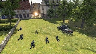 1940 Invasion of France, Battle for Dinant | Men of War: Assault Squad 2 Gameplay