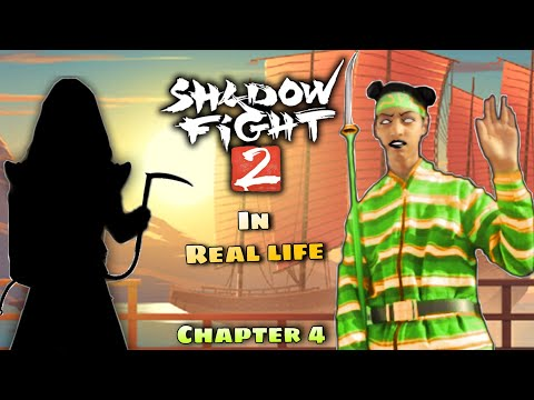Shadow Fight 2 In Real Life (Chapter 4) Wasp Boss Battle.