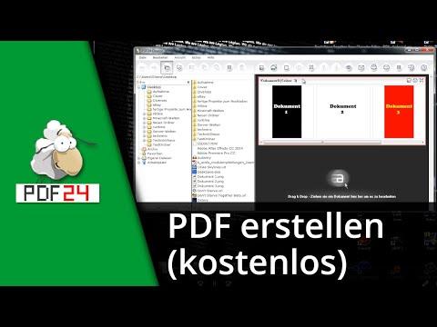 PDF24Creator Tutorial | (Mehrseitige) PDF Erstellen [Deutsch/HD]