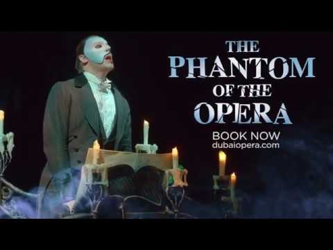 The Phantom of the Opera – Opens 16 October at Dubai Opera