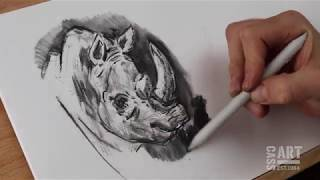 How to with Cass Art: Drawing with pencil and charcoal