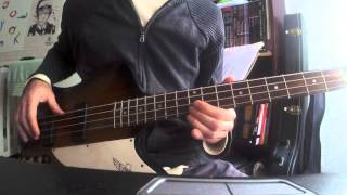 Bass cover - The only mistake - Joy Division