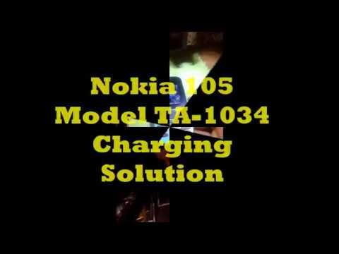 Nokia Model TA 1034 Charging Solution {105 New)