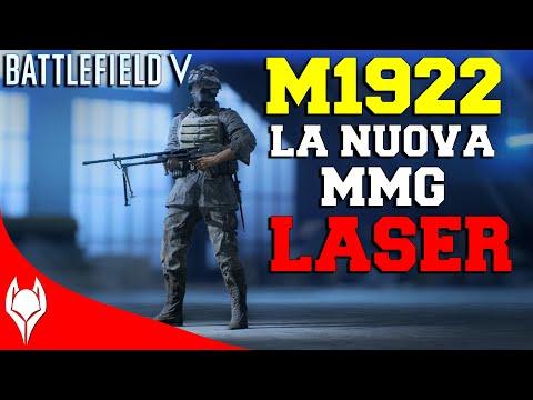 BATTLEFIELD V - M1922 - La Nuova MMG Laser Del Supporto thumbnail