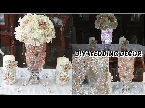 diy-glam-decor-|-diy-bling-wedding-centerpiece-|-glam-event-planning-decor-ideas-2020