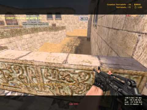 Reign Pubbing in Dust2 Counterstrike Condition Zero Part 4 of 4 Demo Via Fraps