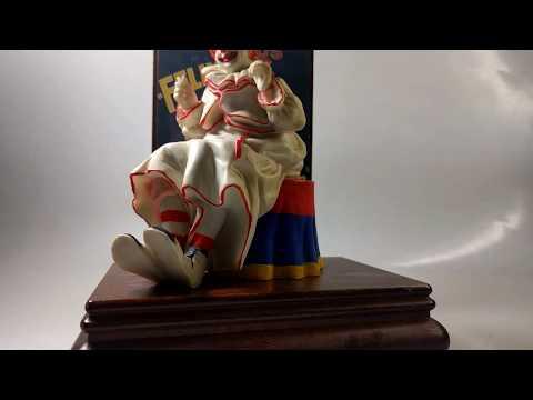 Willitts design Barnum & Bailey's Music Box Felix the clown