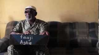 Fatai Rolling Dollar on the agidigbo - R.I.P.