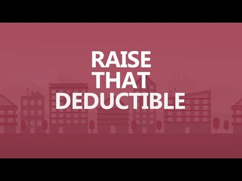Save Big in 30 seconds a day: Raise that deductible.