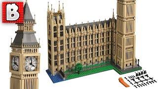 Lego Big Ben Creator Set 10253   Unbox Build Time Lapse Review