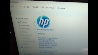Can i delete Recovery partition drive in HP Pavilion Laptop Windows 10 Home
