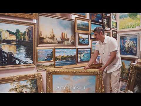 Картины художников в галереях г.Санкт-Петербурга.
