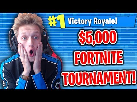 $5,000 Fortnite Saturday Tournament LIVE! - Formula & Randumb