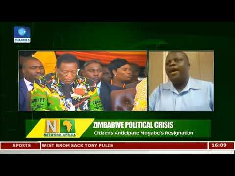 Zimbabwean Citizens Anticipate Mugabe's Resignation   Network Africa  