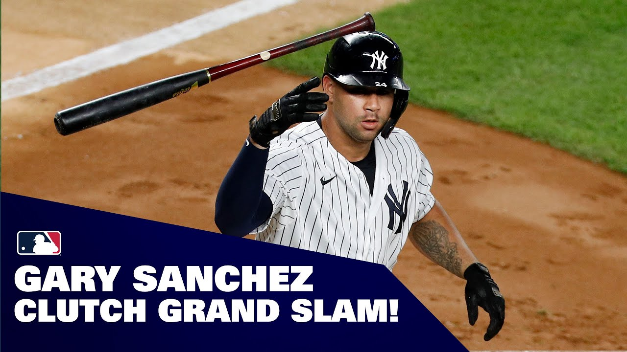 Yankees' Gary Sanchez hits CLUTCH grand slam in extras, leads to win!