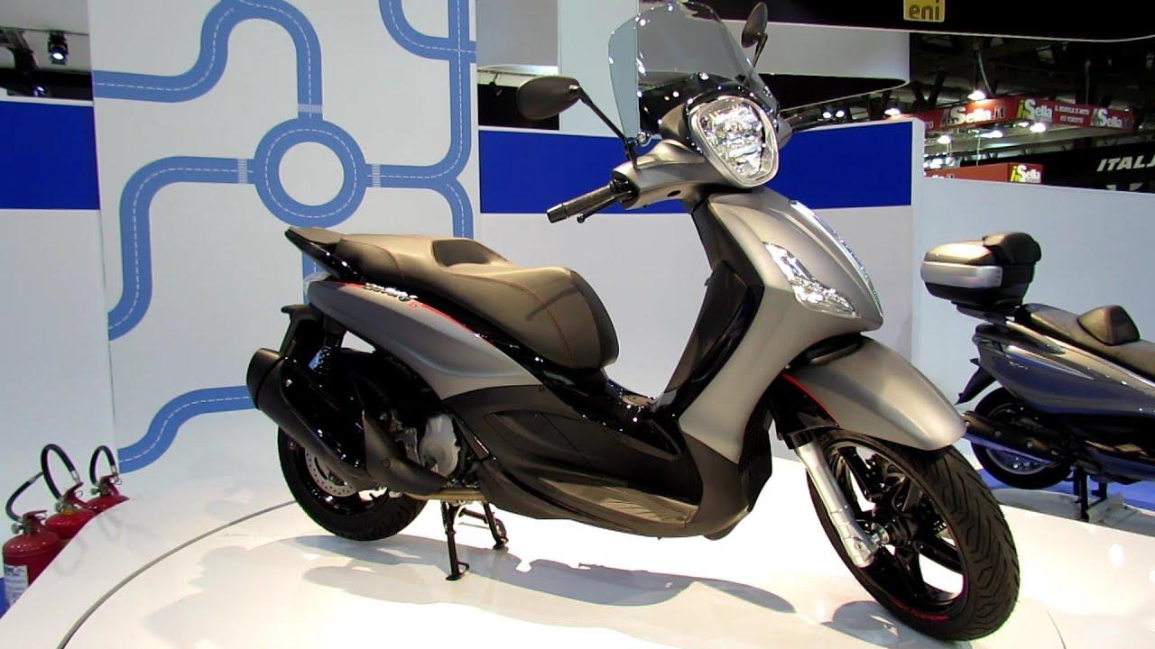 2014 piaggio bv 350ie scooter walkaround 2013 eicma. Black Bedroom Furniture Sets. Home Design Ideas