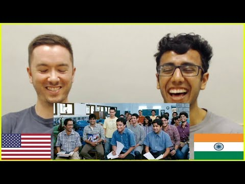What's A Machine REACTION By Engineering Students | 3 Idiots | American Speaks Hindi | #ReactoQuests