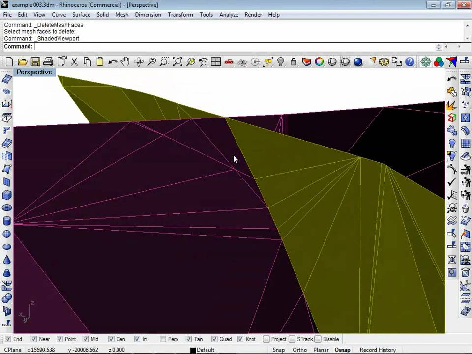 modeling non persistent intersecting faults in flac3d 3dec youtube rh youtube com