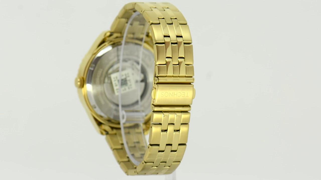 4dadb3612c9 Relógio Technos Masculino Automático 8205NN 4P - Eclock. Eclock Relógios