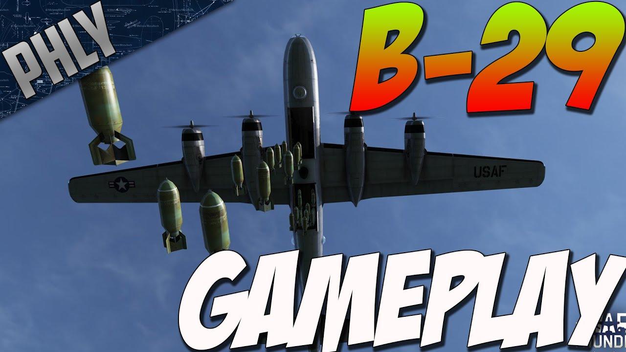 War thunder b 29 gameplay lego