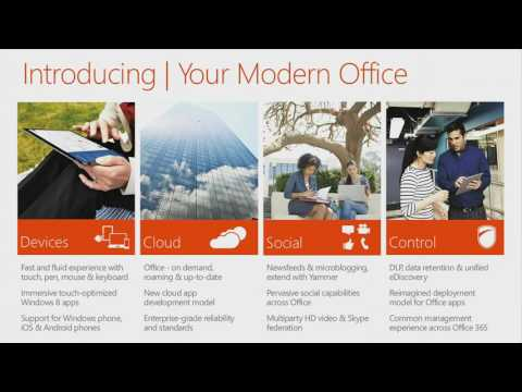 TechEd New Zealand 2012 Your Modern Office   Introducing the new Office, SharePoint, Lync, and Excha