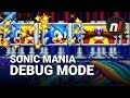 Sonic Mania: How to Unlock Debug Mode & Stage Select