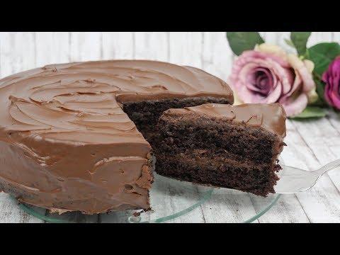 Chocolate Mud Cake / Schokoladenkuchen Rezept