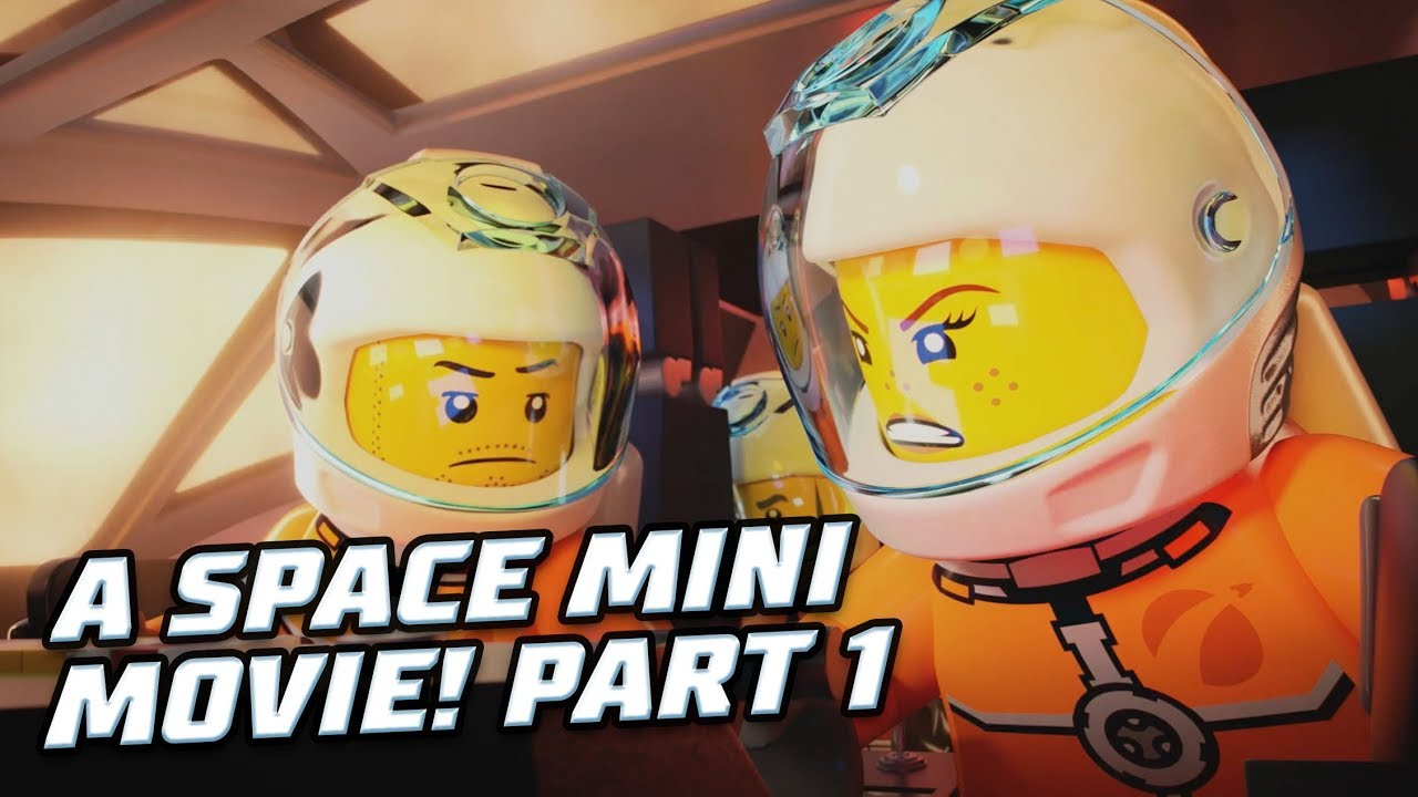 Watch the LEGO® Space Mini Movie!   Spaced Out (Part 1) #1