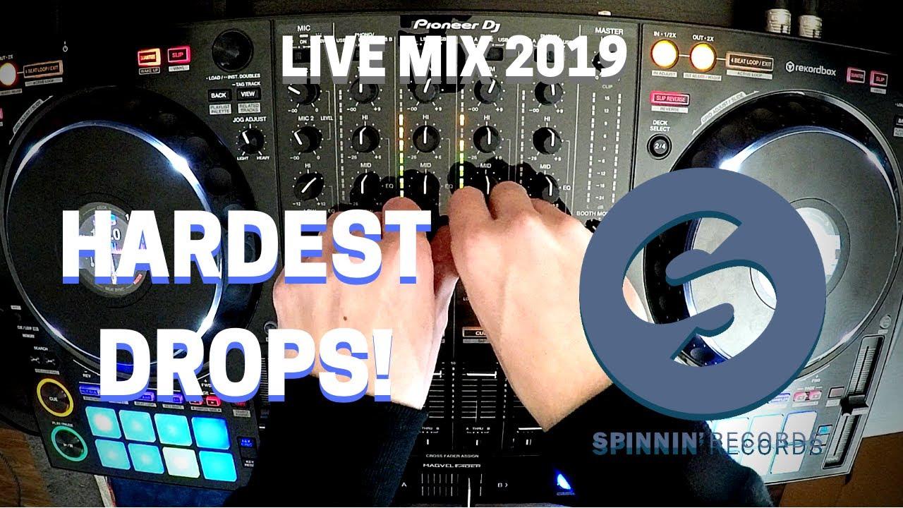 Spinnin' Records Hardest Drops Live Mix 2019 | Pioneer DDJ-1000