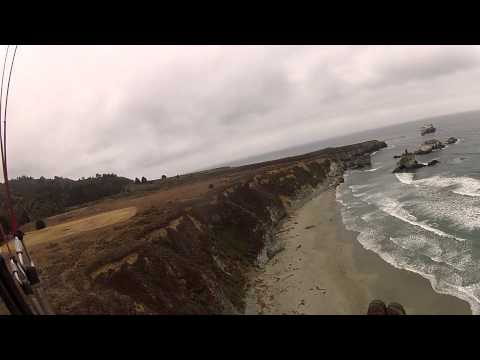 Big Sur Zeppelin (Magnum-42) test flight