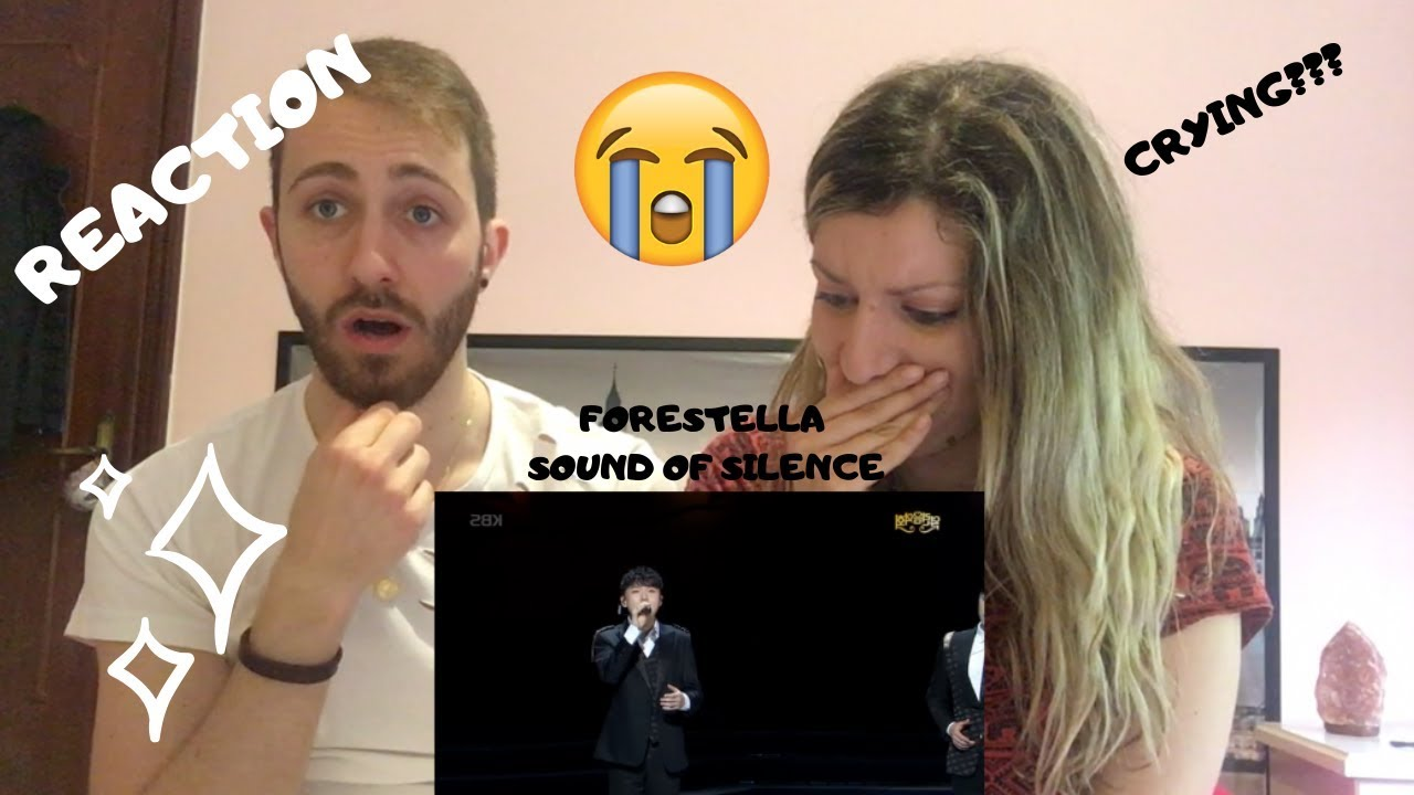 FORESTELLA - THE SOUND OF SILENCE *EMOTIONAL* REACTION!!!