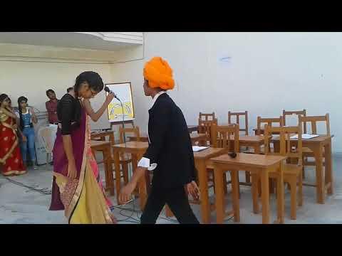 Teachers day Act on  SBRL Academy mainpuri