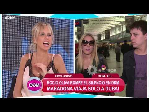 Maradona llamó a un programa de televisión para insultar a un periodista en vivo