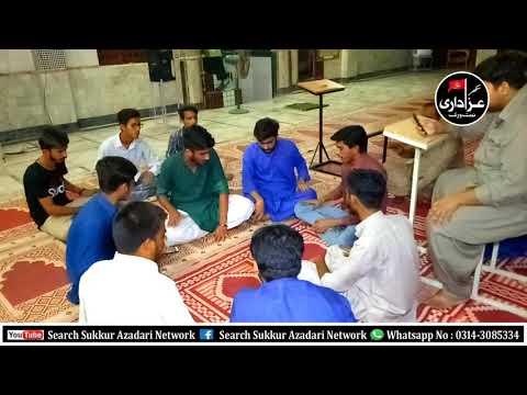 Anjuman-E-Guldasta-E-Ali Akbar 22 Zilqad 25th July 2019_1440 Hijri Hyderi Masjid Old Sukkur